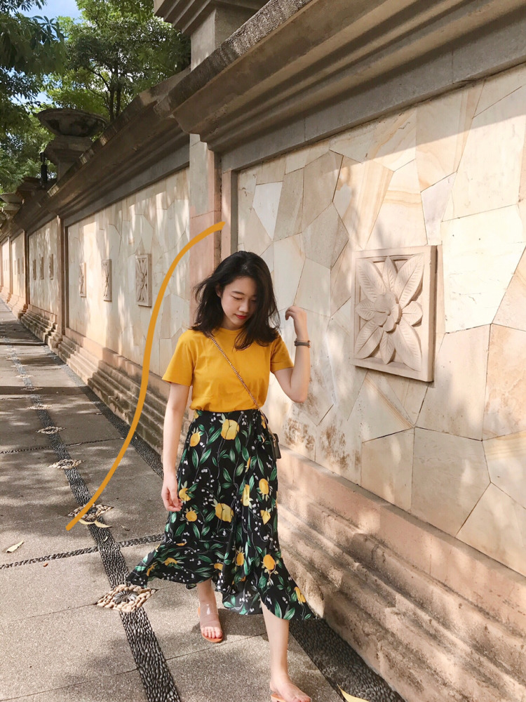 20180730184430 - Candy yellow in summer#MYLOOKS#