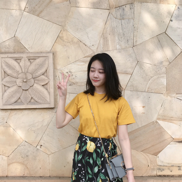 20180730184442 - Candy yellow in summer#MYLOOKS#