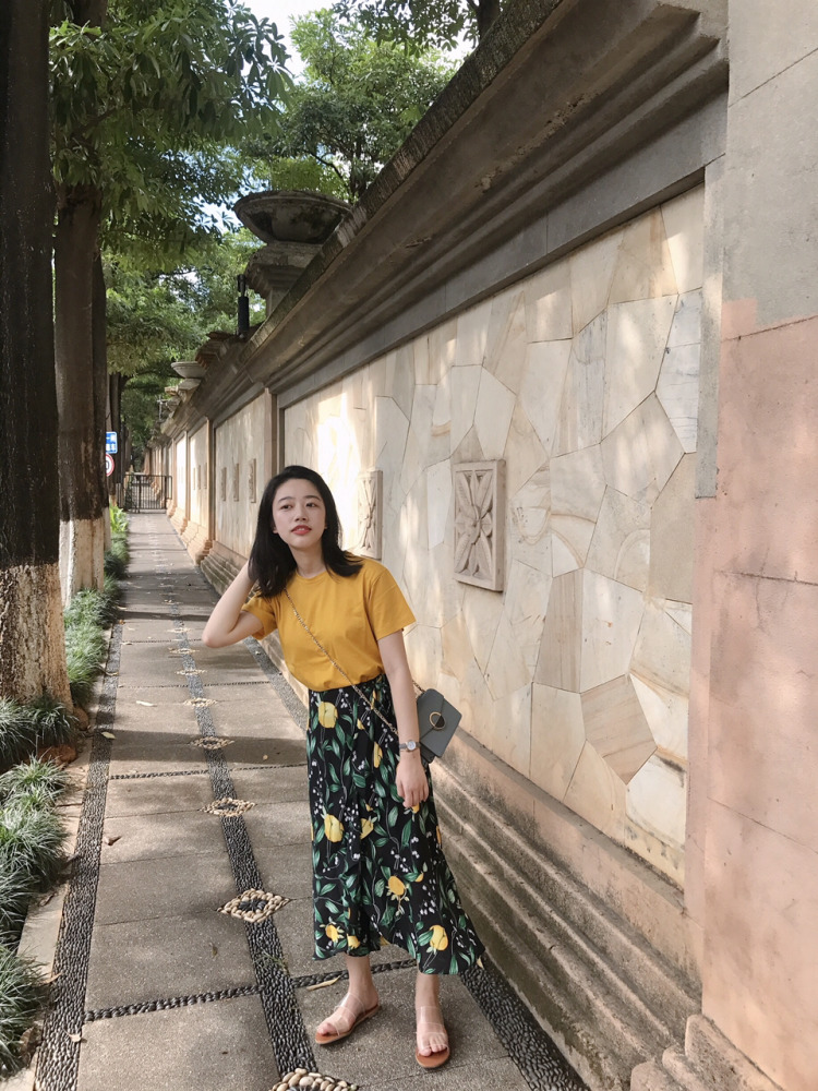 20180730184447 - Candy yellow in summer#MYLOOKS#