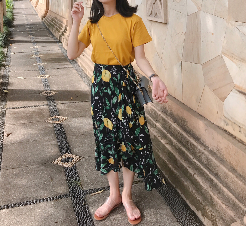 20180730184455 - Candy yellow in summer#MYLOOKS#