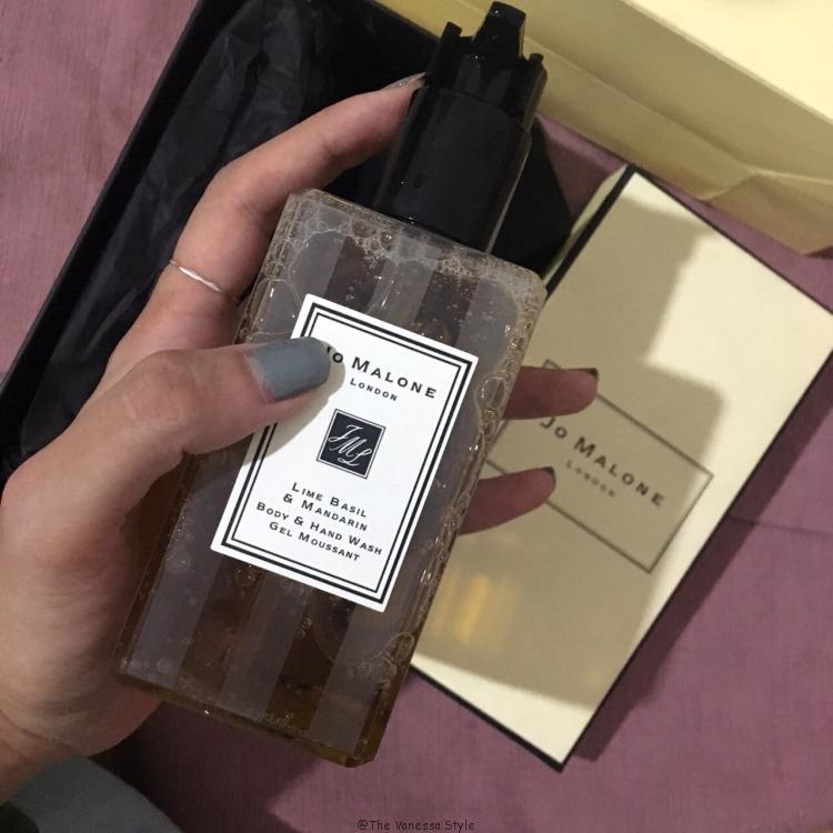 20180824185338 - Jo Malone Lime Basil body lotion 2018 review
