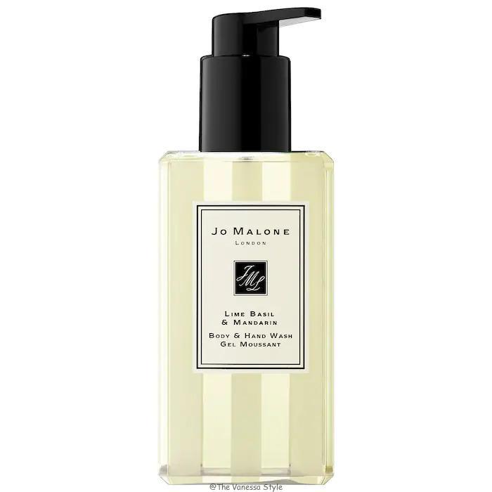 Jo Malone London Lime Basil Mandarin Body Hand Wash Review - Jo Malone London Lime Basil & Mandarin Body & Hand Wash Review