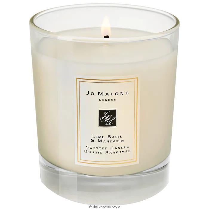 Jo Malone London Lime Basil Mandarin Home Candle Review - Jo Malone London Lime Basil & Mandarin Home Candle Review